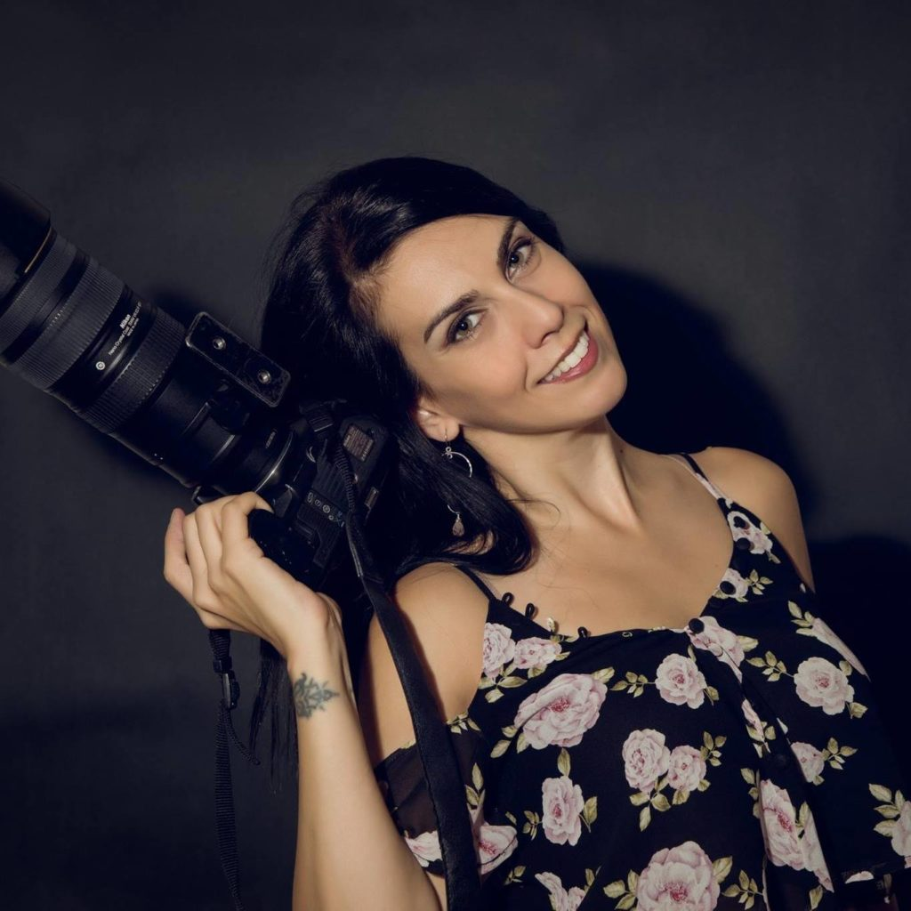Picture of Silvia Pangaro. Business and ecommerce photographer.